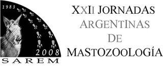 XXII Jornadas Argentinas de Mastozoología