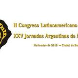 Marca de XXV JAM y II Congreso Latinoamericano de Mastozoología