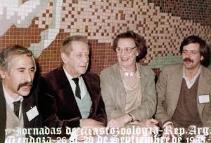 I JAM: Jorge Cajal, Claes Olrog, Gunilla B. de Olrog y Ricardo Ojeda