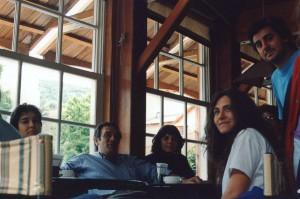 VIII JAM: Participantes en un bar de Bariloche