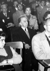 Ángel Cabrera en el Primer Congreso Sudamericano de Zoología (La Plata, 14 de octubre de 1959)