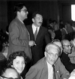 Reig, Ringuelet y Gavrilov en Chascomús, luego del Primer Congreso Sudamericano de Zoología (La Plata, octubre de 1959)