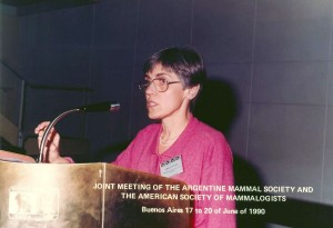 VI JAM & ASM: María Guiomar Vucetich