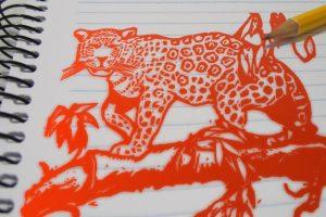 Cuaderno con yaguareté